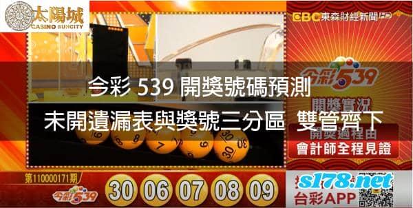 今彩539開獎號碼預測,雙贏模式同時啟動!